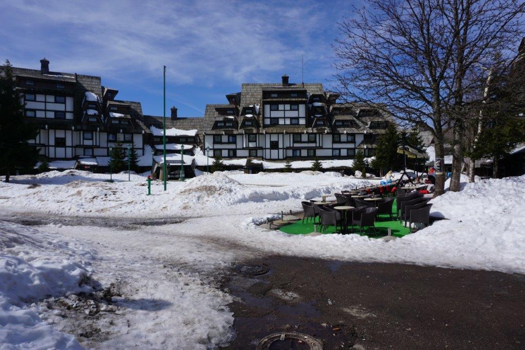 Teška depresija snežnog pokrivača na Kopaoniku