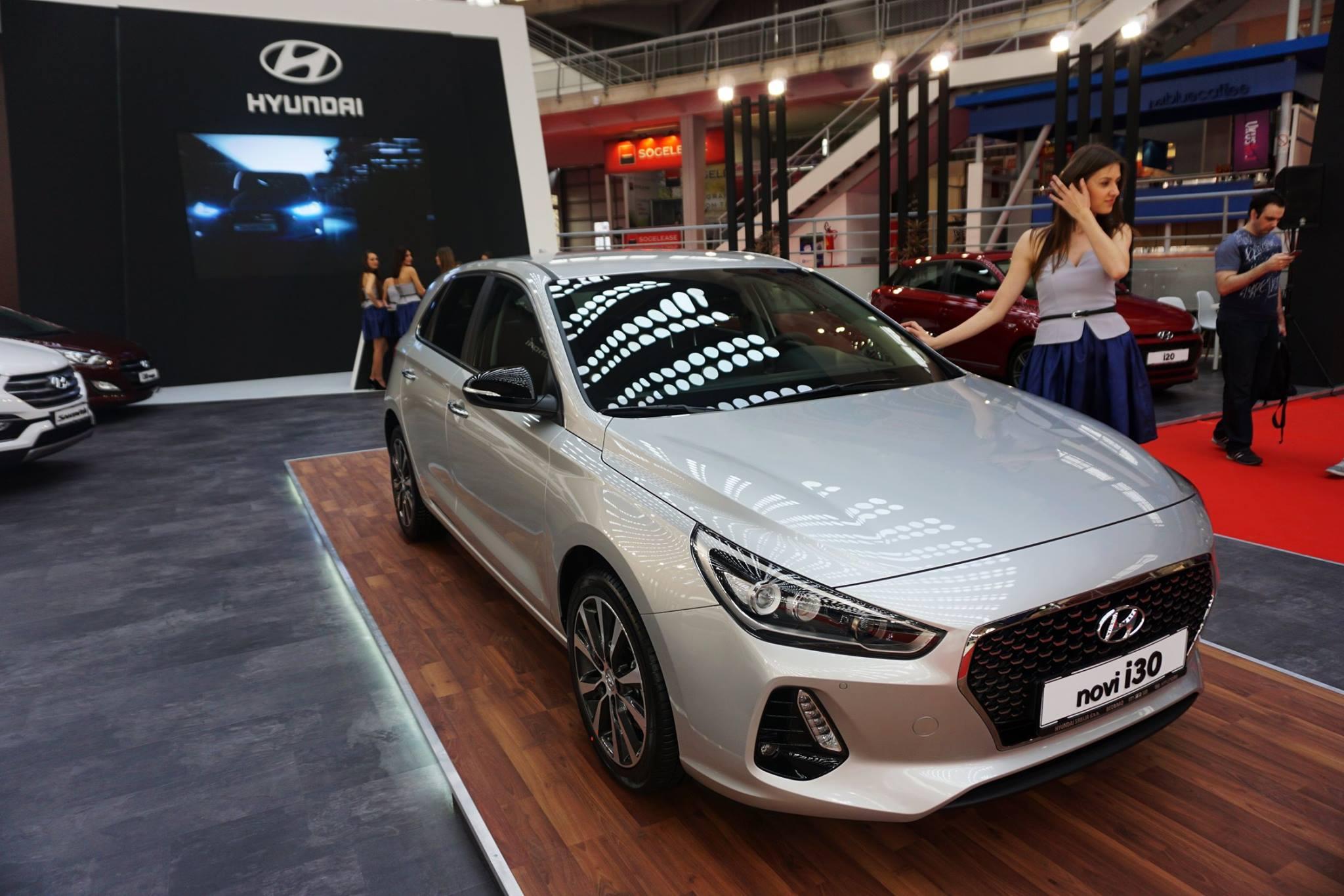 Novi Hyundai i30 predstavljen na Salonu automobila u Beogradu