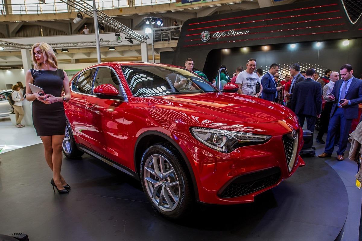 Alfa Romeo Stelvio premijerno na Međunarodnom Salonu automobila u Beogradu