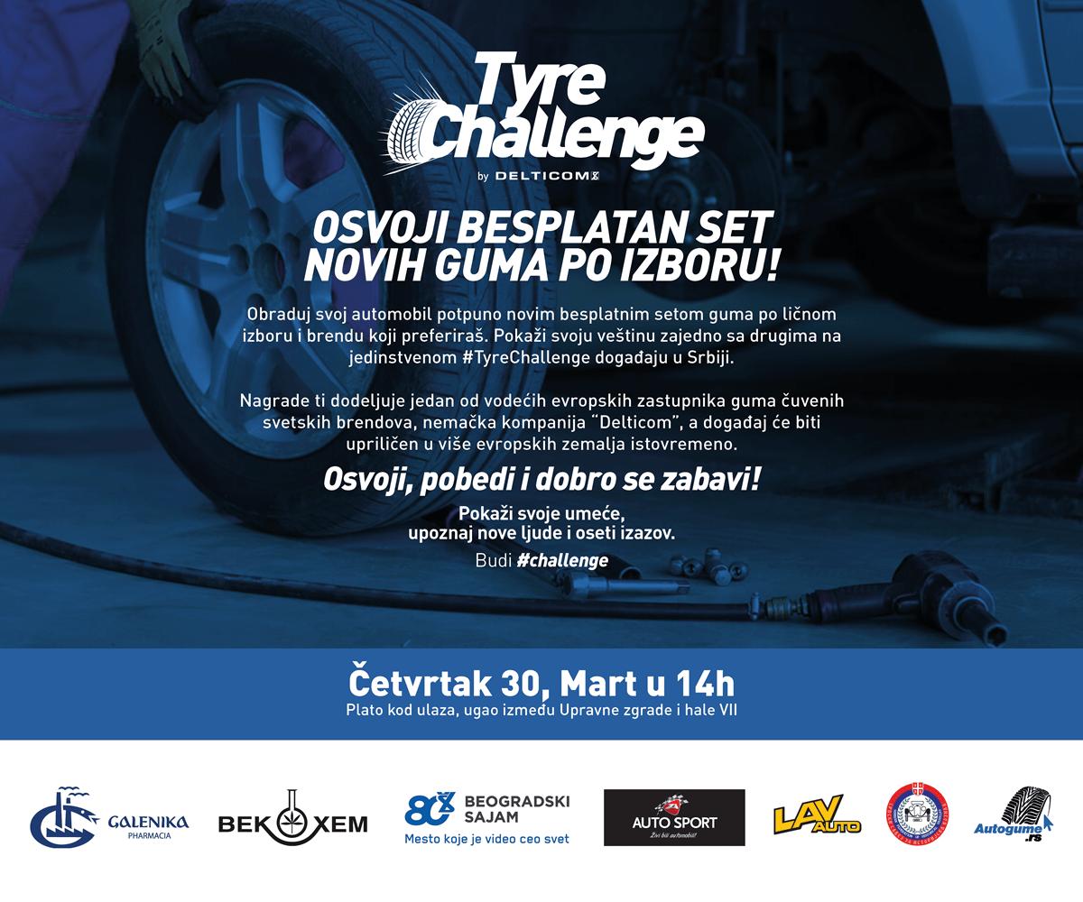 Tyre Challenge – prvo nacionalno takmičenje