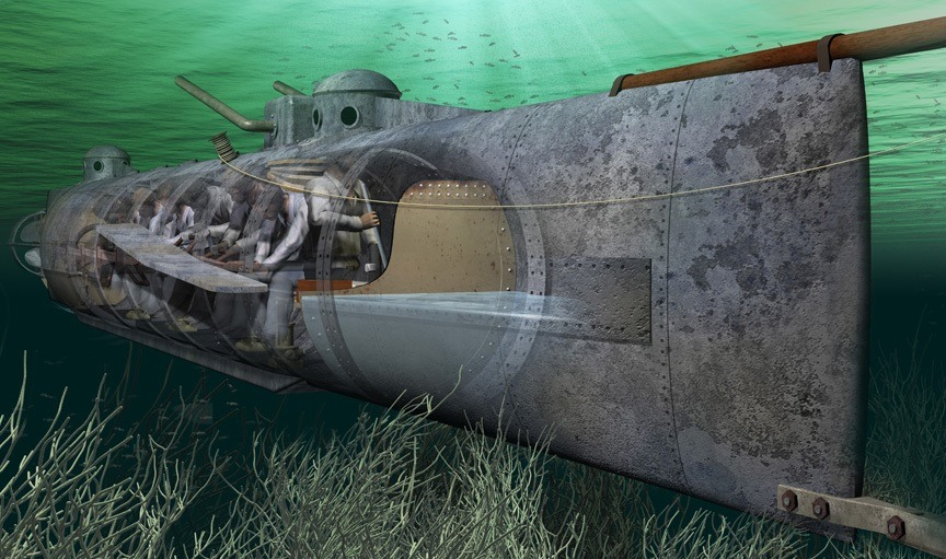 H.L. Hunley – prva podmornica koja je potopila brod