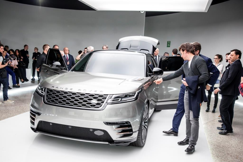 Range Rover Velar u Milanu