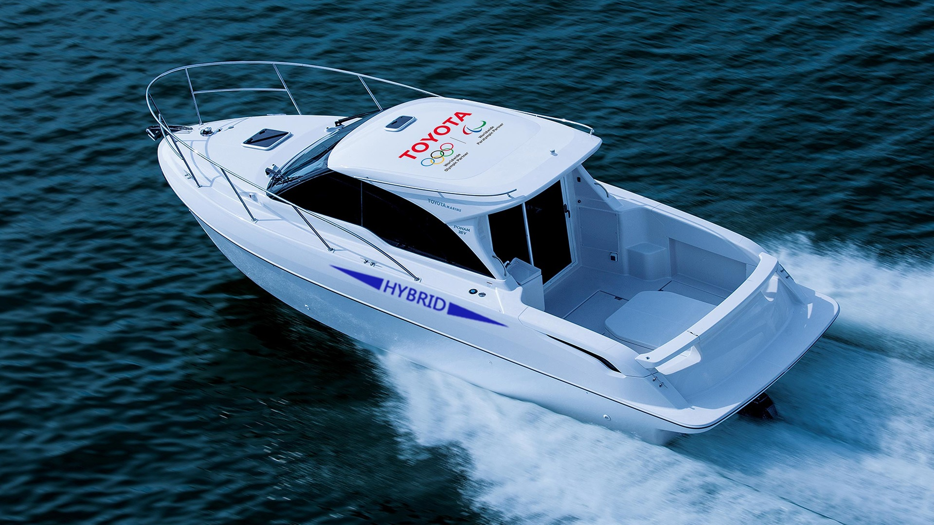 Toyota razvija hibridno plovilo – eksperimentalni PONAM 28V