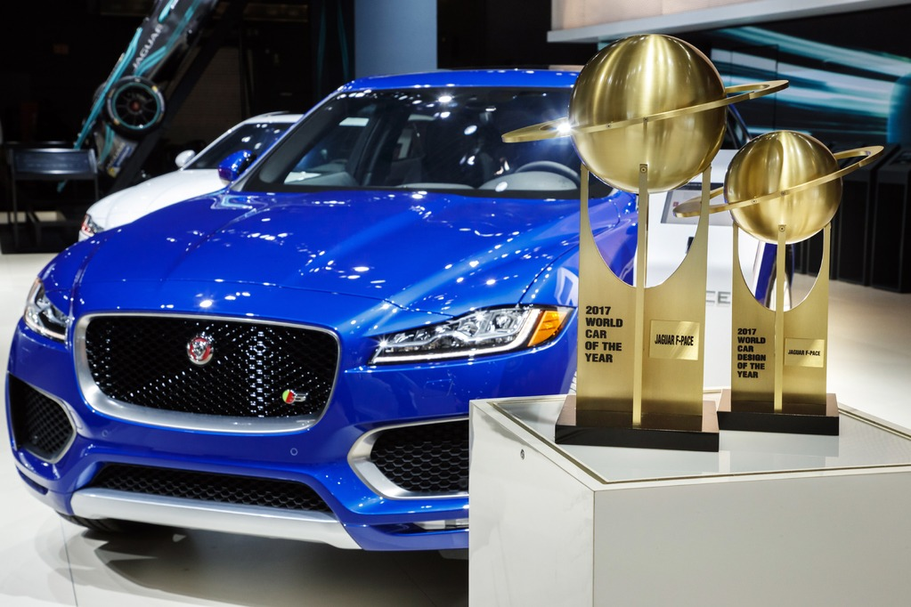 "Jaguar F-PACE – ""World Car of the Year"" i ""World Car Design of the Year"""