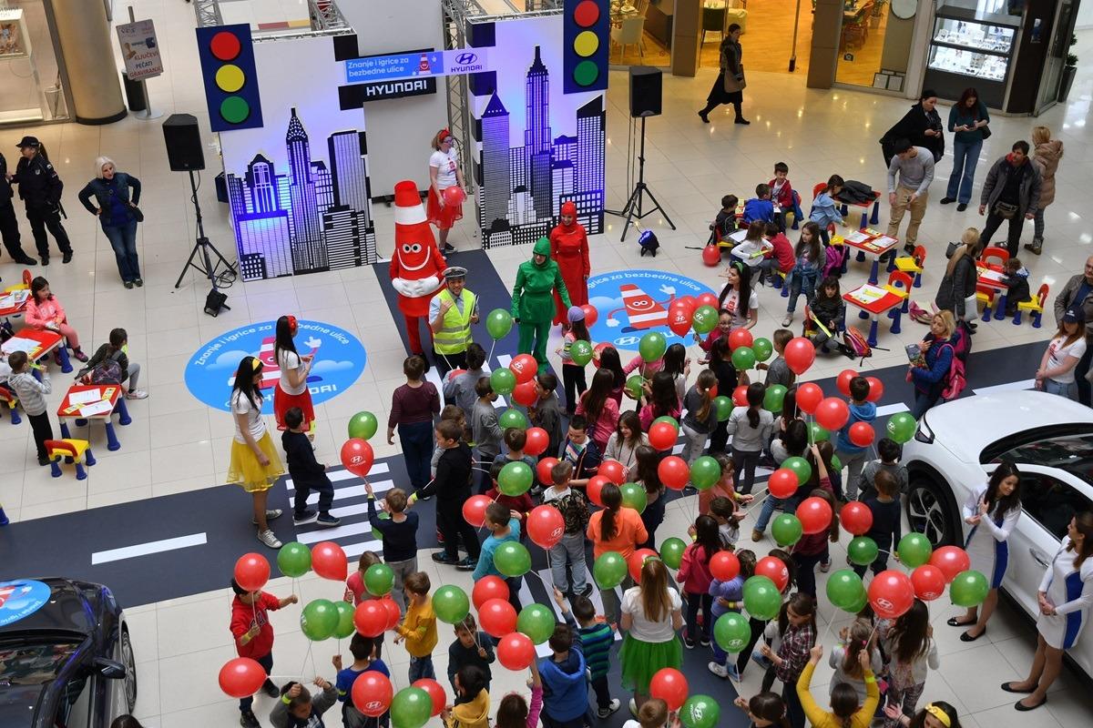 Akcija Hyundai Srbije posvećena povećanju bezbednosti u saobraćaju dece ranog školskog uzrasta