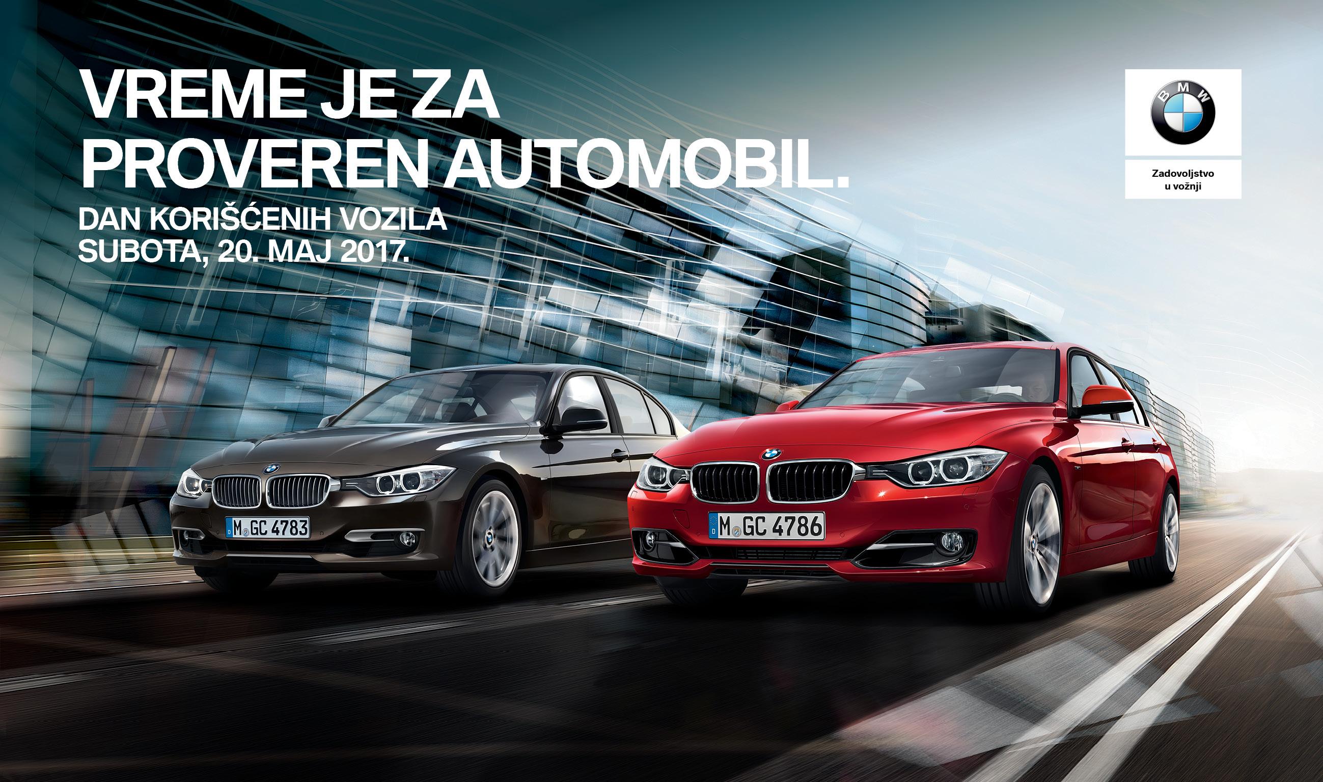 Povoljna prilika za kupovinu novih korišćenih BMW i MINI vozila