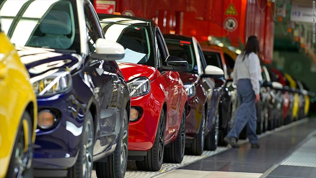 Pad prodaje automobila u Evropi u aprilu – kriv Uskrs