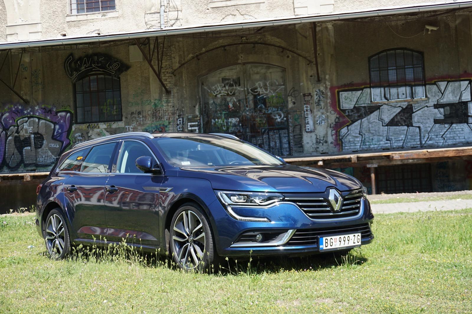 Renault Talisman Grandtour Zen Energy 1.6 dCi 160 EDC – Šarmantni performer