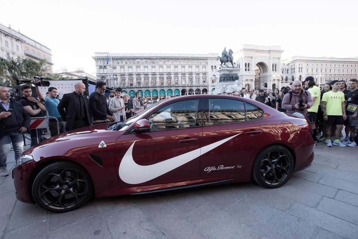 Karl Luis, Kevin Hart, Alfa Romeo Giulia Quadrifoglio i Nike
