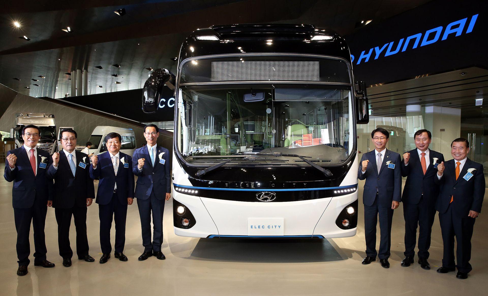 Hyundai predstavio električni autobus autonomije od 290 kilometara (video)