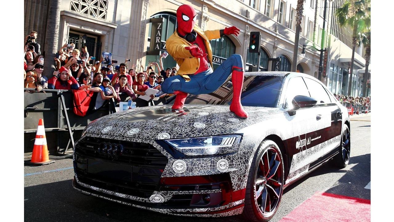 Audi A8 i Spajdermen