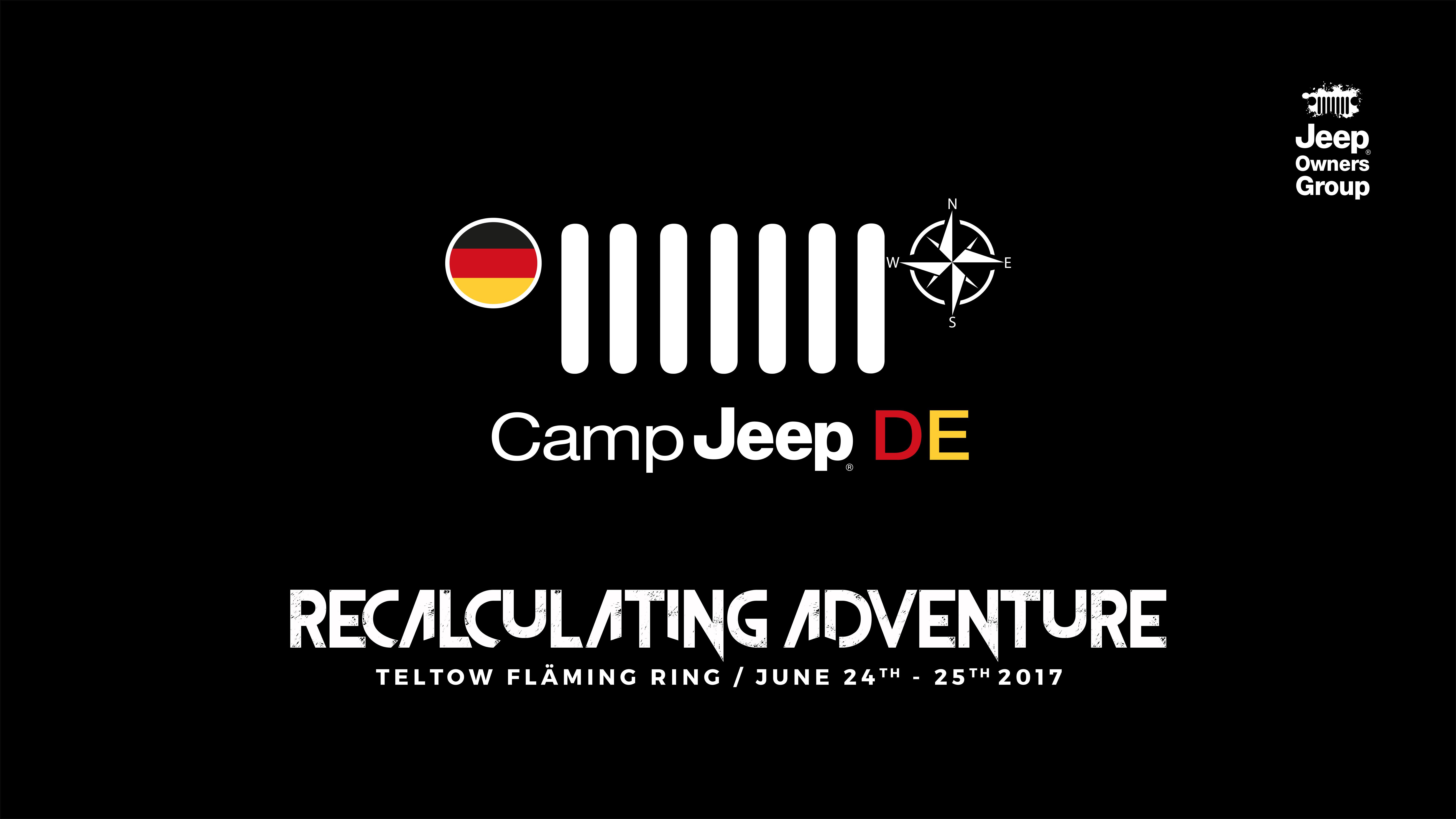 Zagrevanje motora za uzbudljivi Jeep® kamp 2017