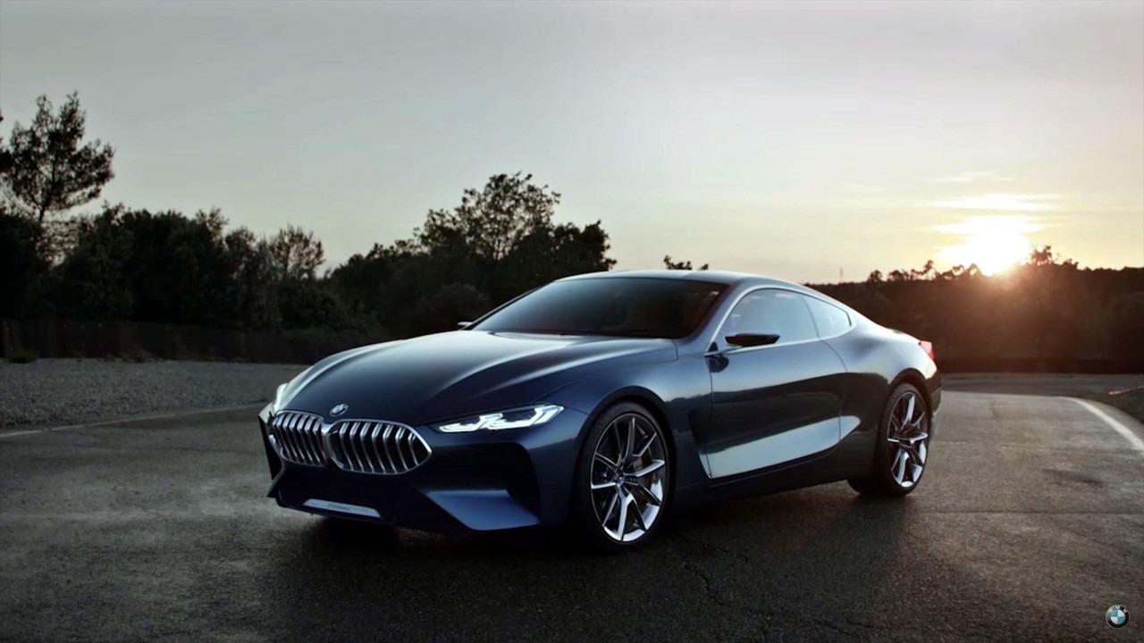 BMW serije 8 koncept u (sporim) pokretnim slikama