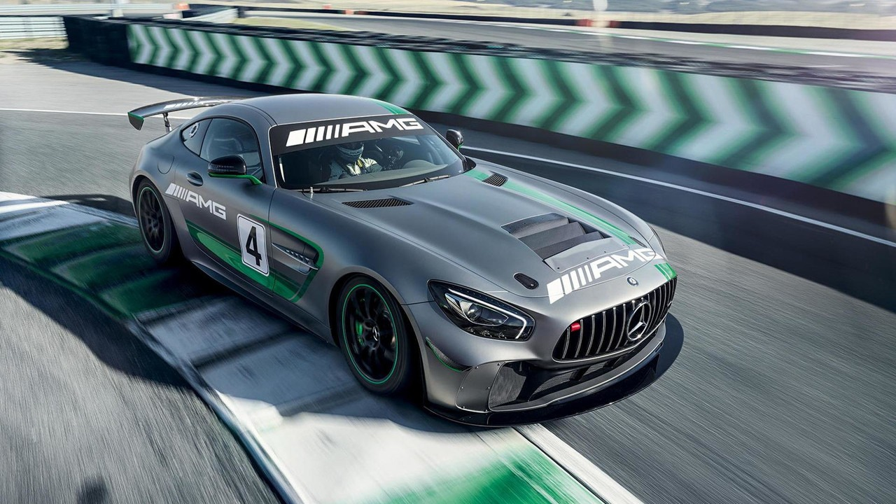 Mercedes-AMG GT4 – lepota (brzog) pokreta (galerija)
