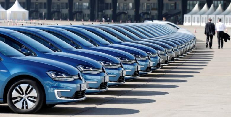 Pad prodaje novih automobila u Nemačkoj