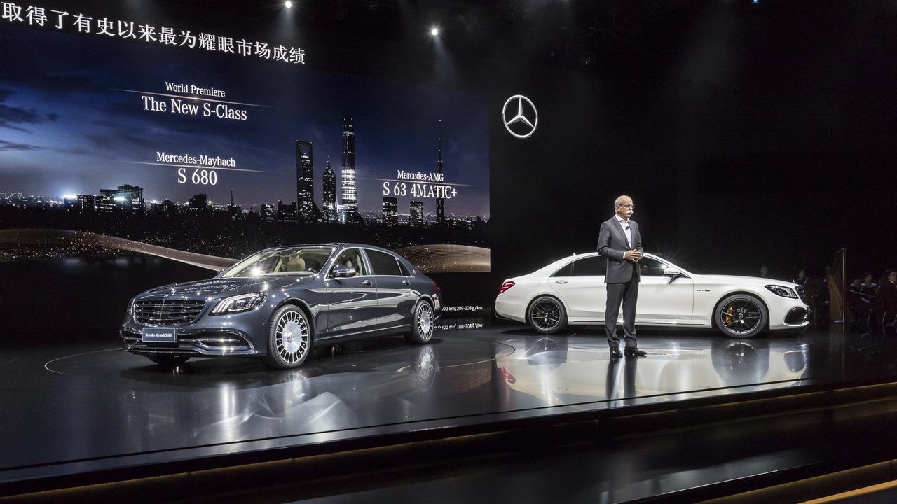 Mercedes S klase kupe i kabriolet na IAA u Frankfurtu