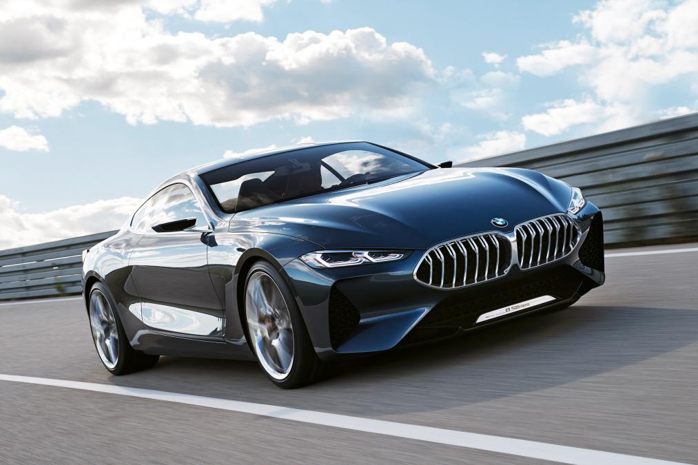 BMW serije 8 na Nirburgringu (video)