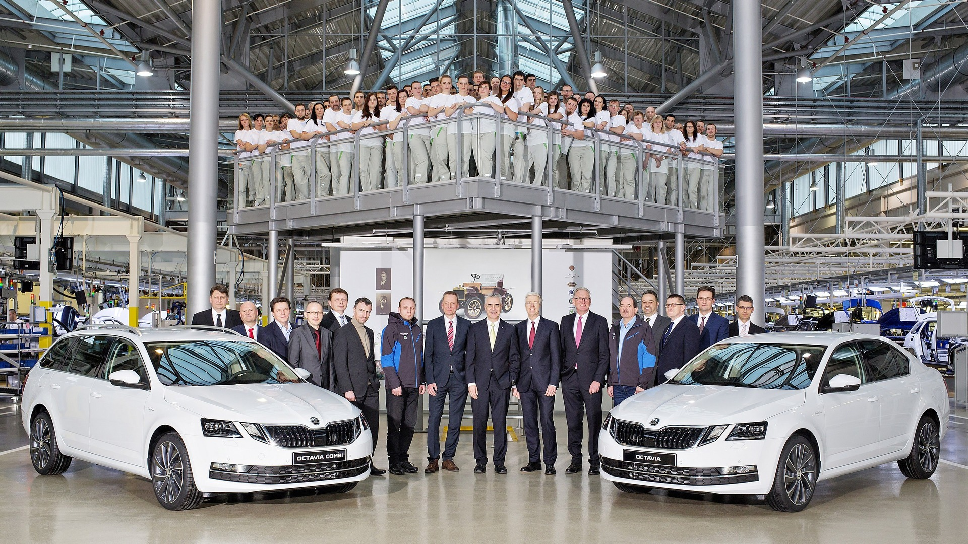 Škoda proizvela 15 miliona vozila pod Volkswagenom