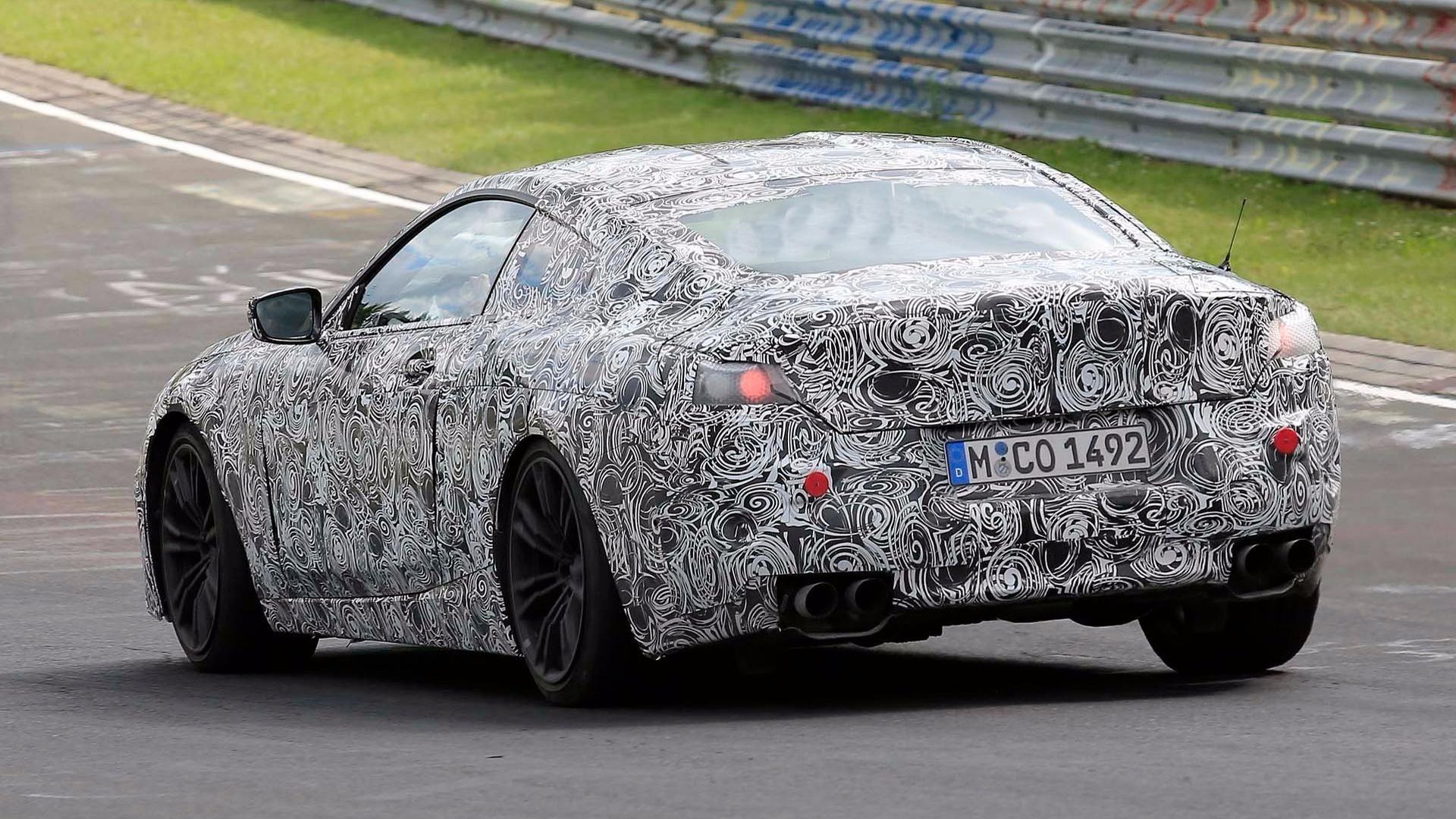 BMW M8 i serija 8 M Package na Nirburgringu