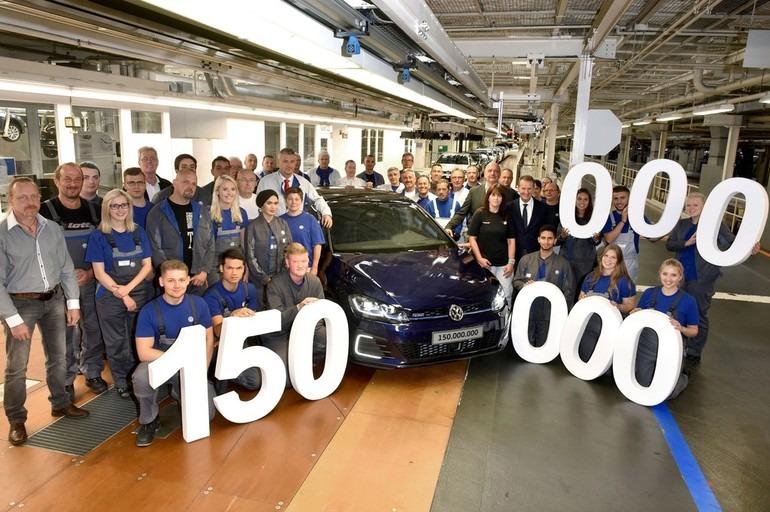 Volkswagen proizveo 150.000.000. automobil (video)