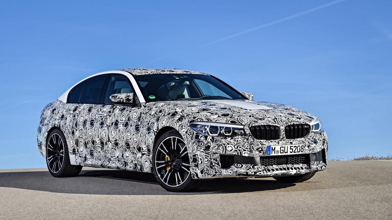 BMW M5 – biće otkriven pre IAA u Frankfurtu (galerija)