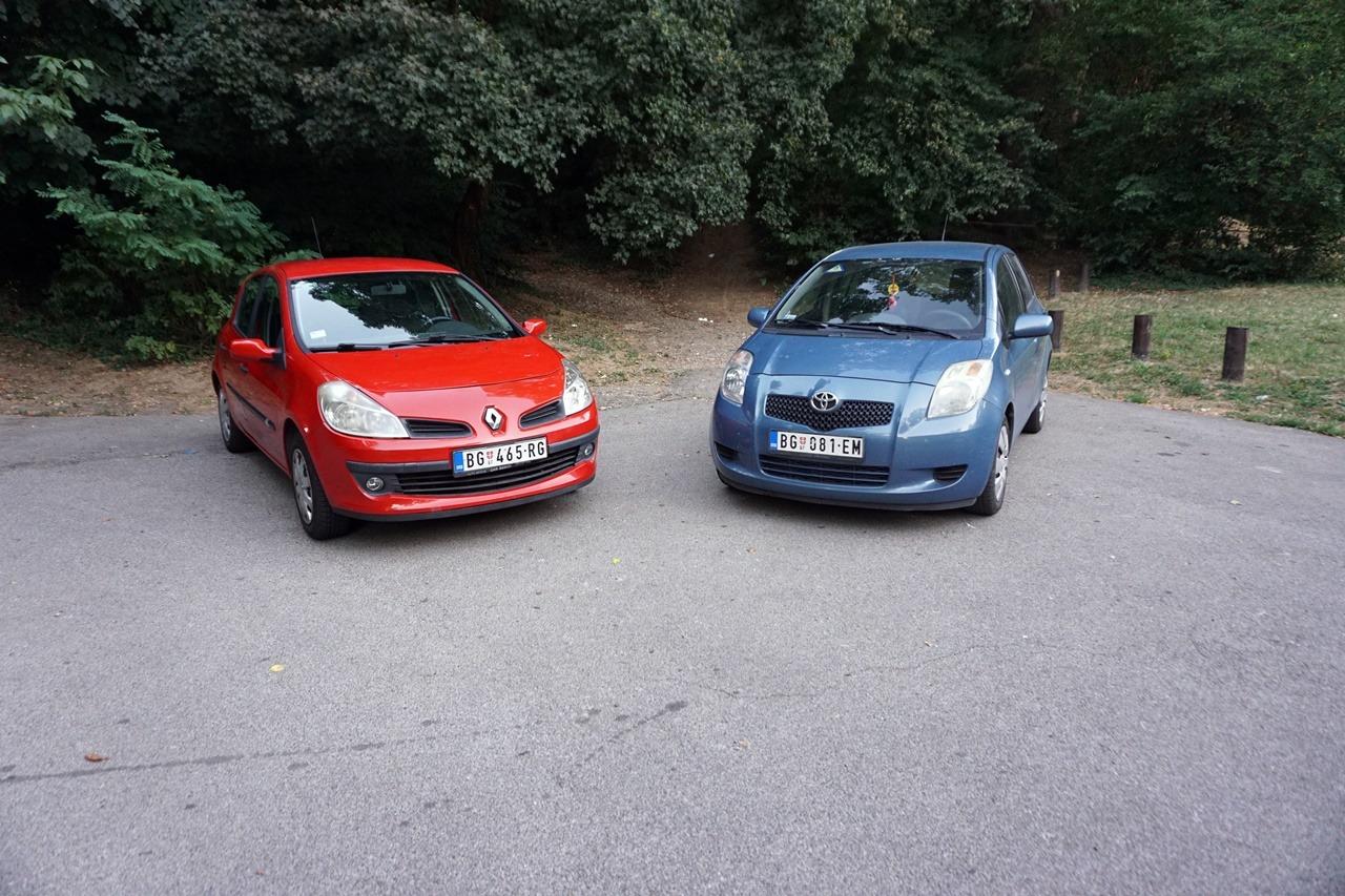Toyota Yaris 1.3 VVTi vs Renault Clio III 1.4 – Repriza derbija 11 godina kasnije