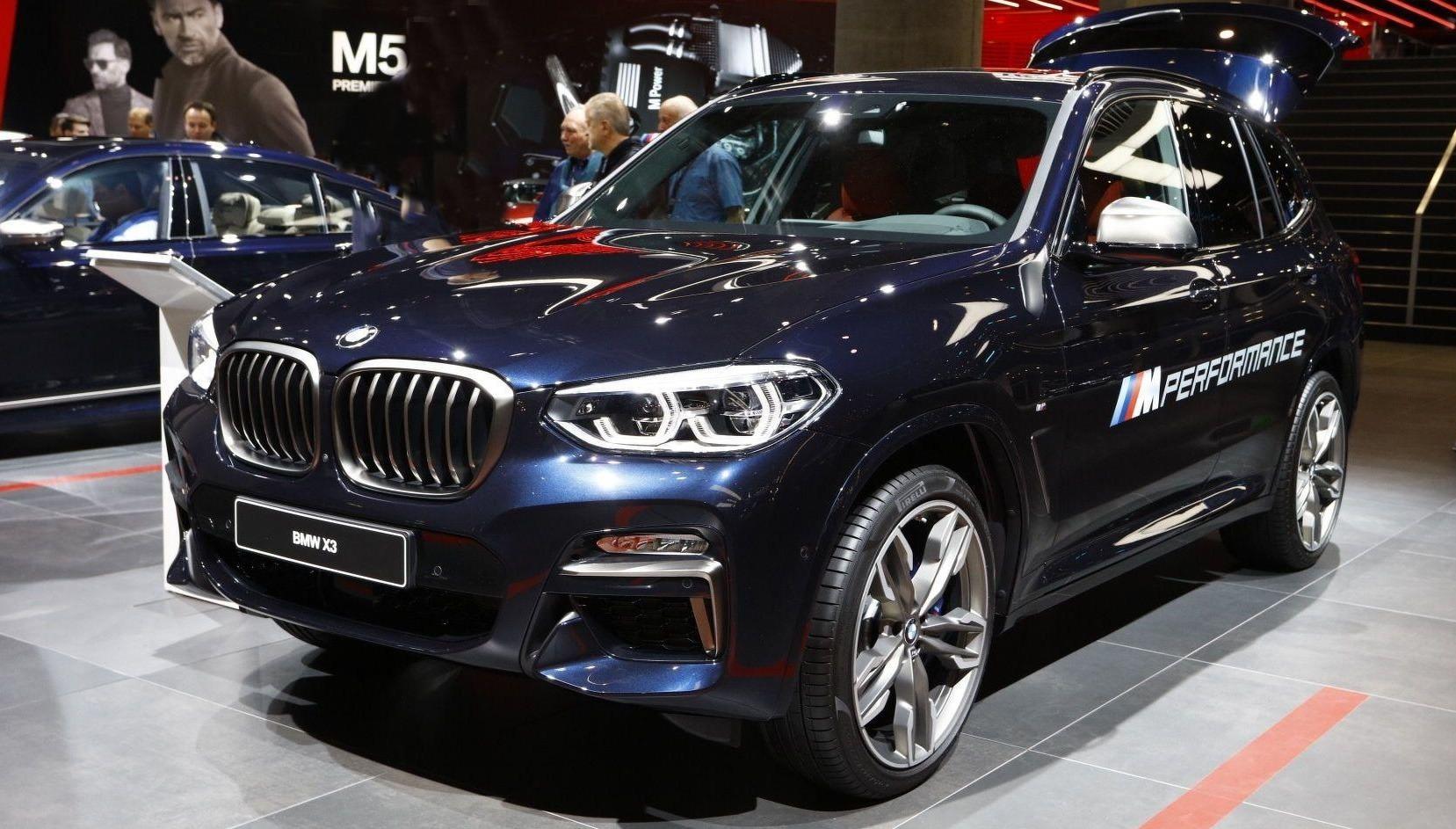BMW X3 M na vidiku