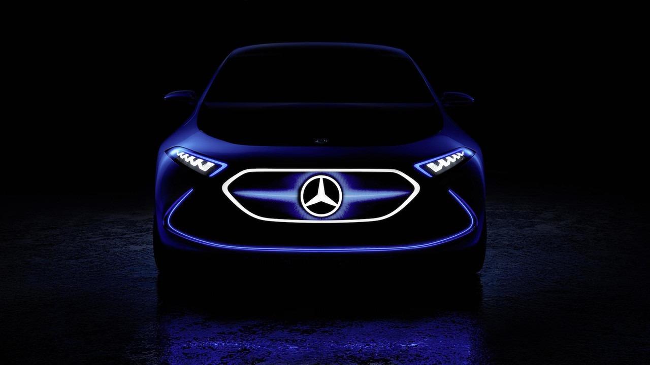 Mercedes EQ A koncept u Frankfurtu