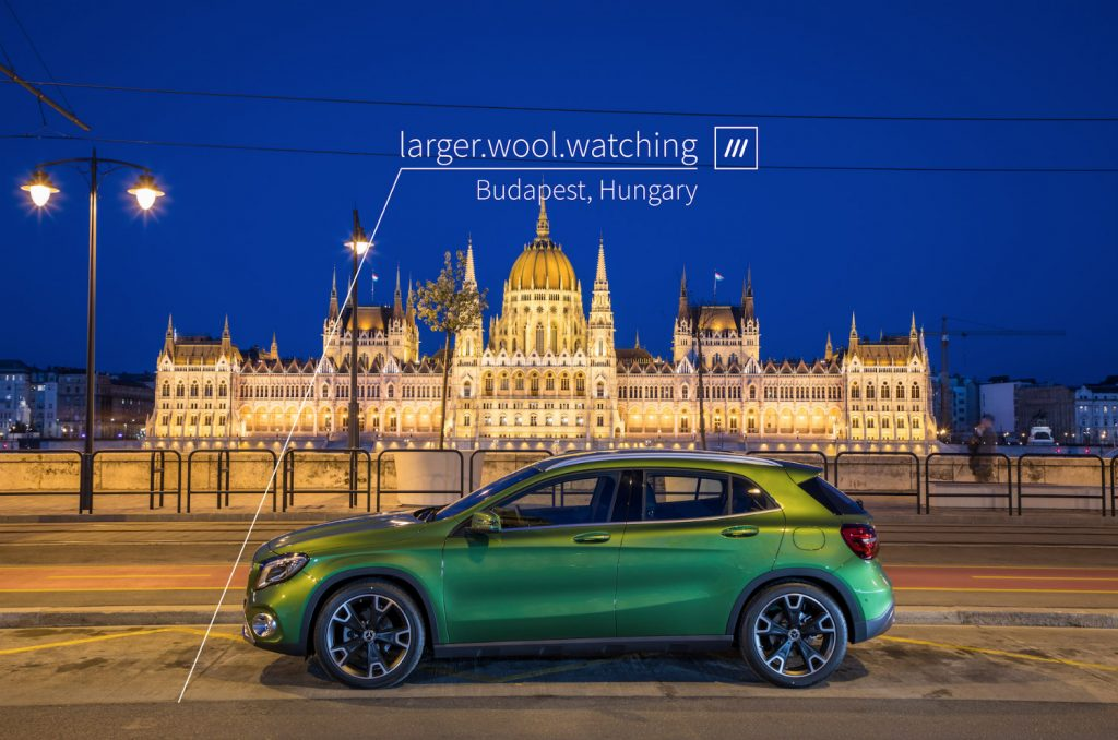 Navigacija u tri reči za svako mesto na planeti – Mercedes-Benz i what3words