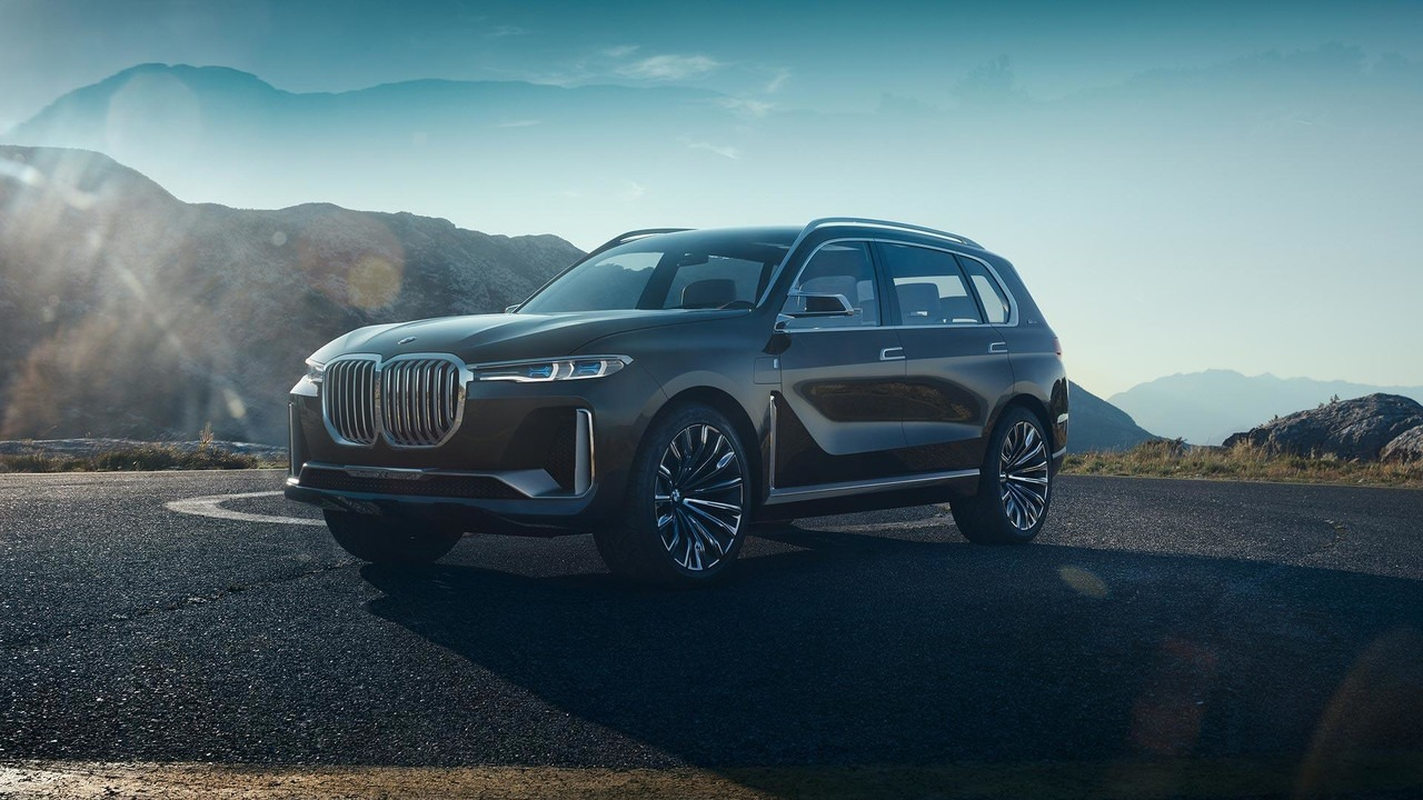 BMW Concept X7 iPerformance u pokretnim slikama (video i galerija)