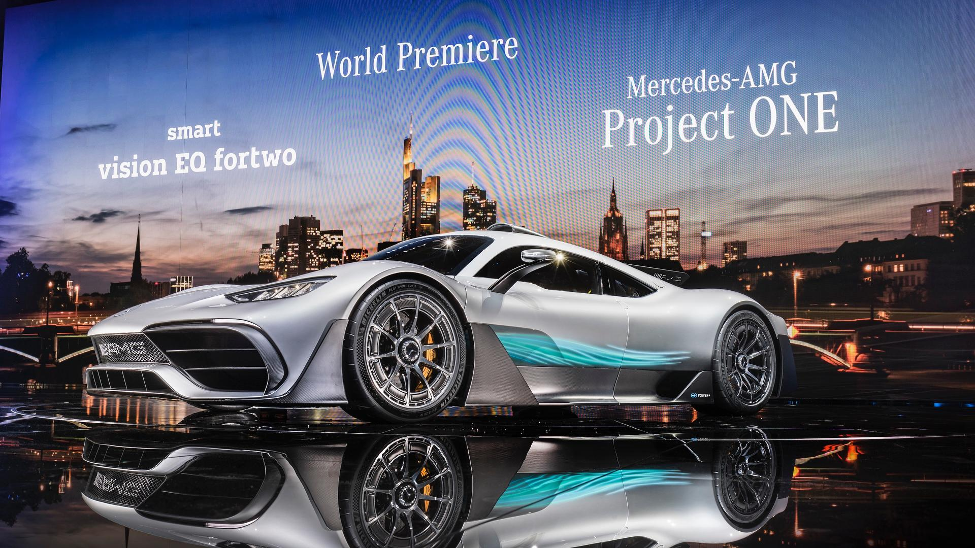 Mercedes AMG Project One (galerija)