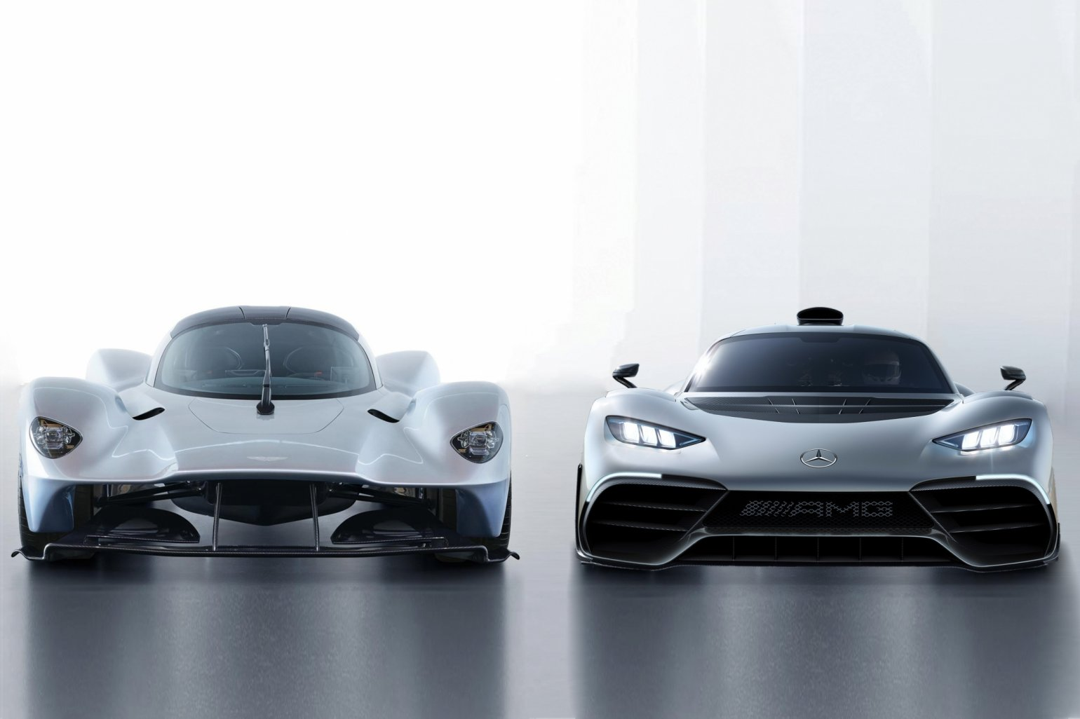 mercedes amg project one vs aston martin valkyrie - auto republika