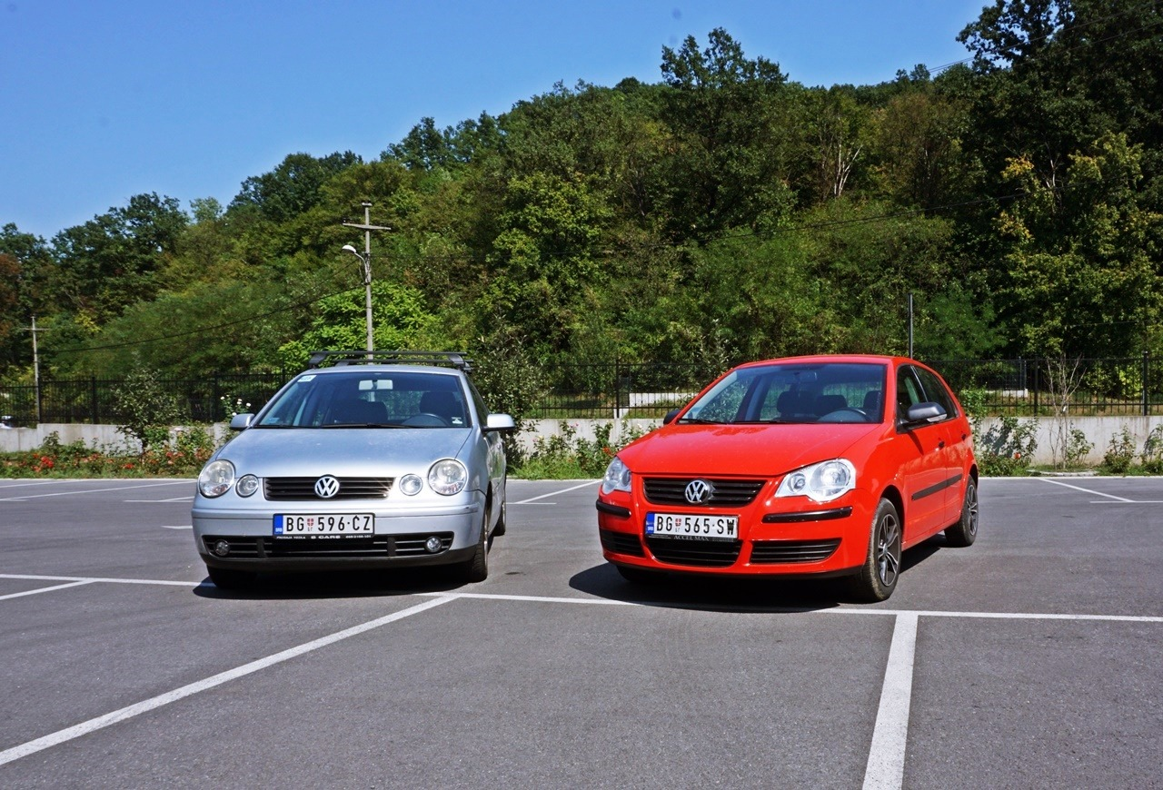 VW Polo 1,4 Comfortline (2008.)  vs VW Polo 1.9 TDI Highline (2004.) – Balans plus