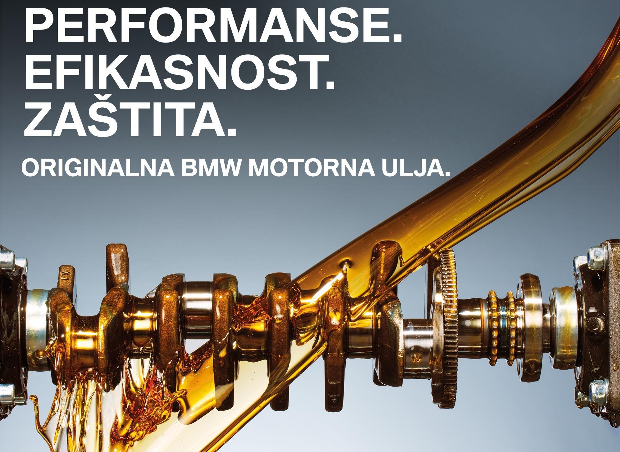 Zašto je važno koristiti originalna BMW ulja?