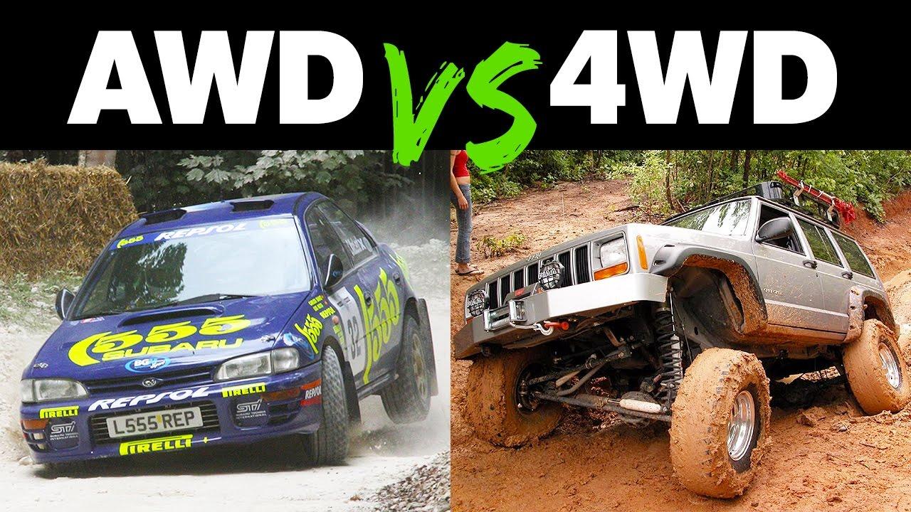 Šta je bolje – 4WD ili AWD? (video)