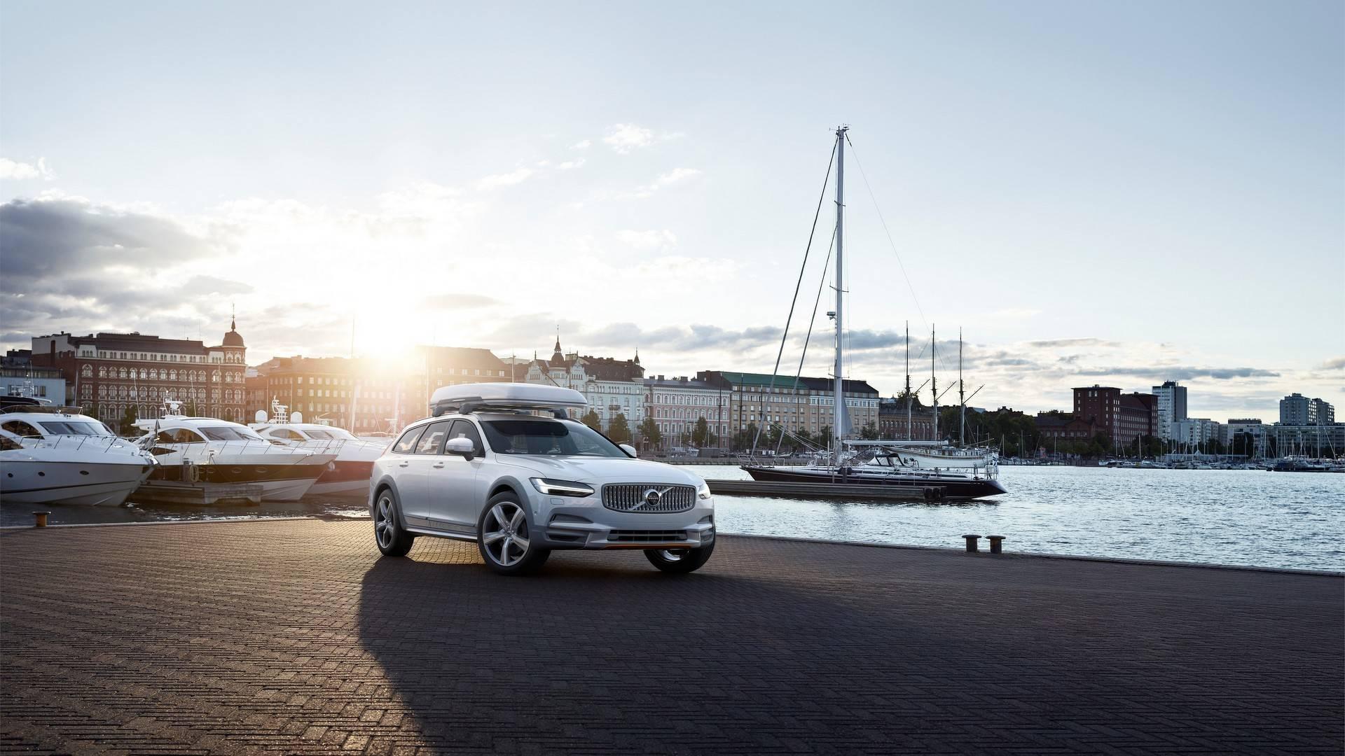 Volvo V90 Cross Country Volvo Ocean Race (video i galerija)