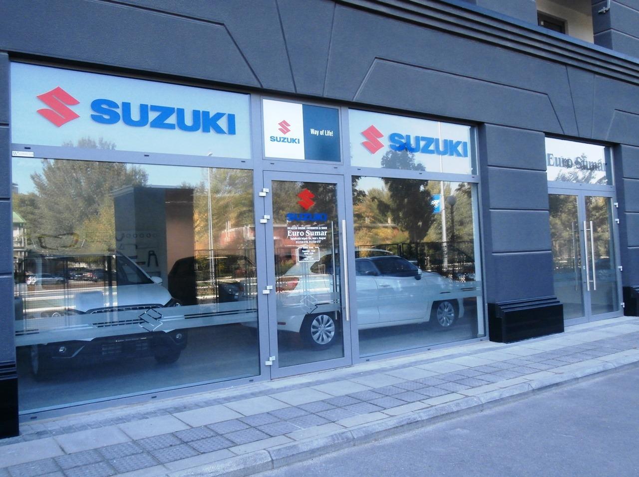 Novi salon Suzukija na Novom Beogradu