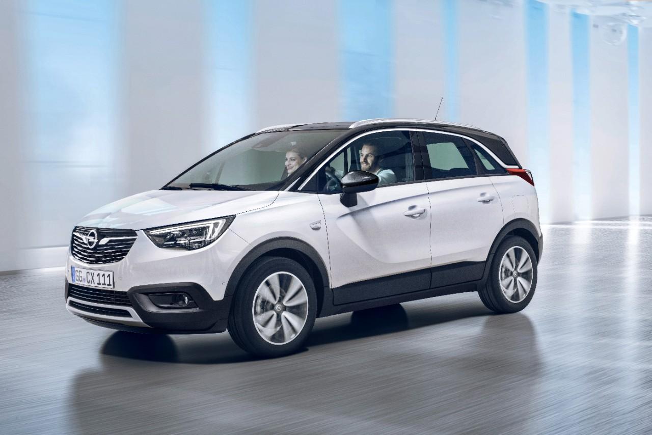 Opel Crossland X na tečni naftni gas