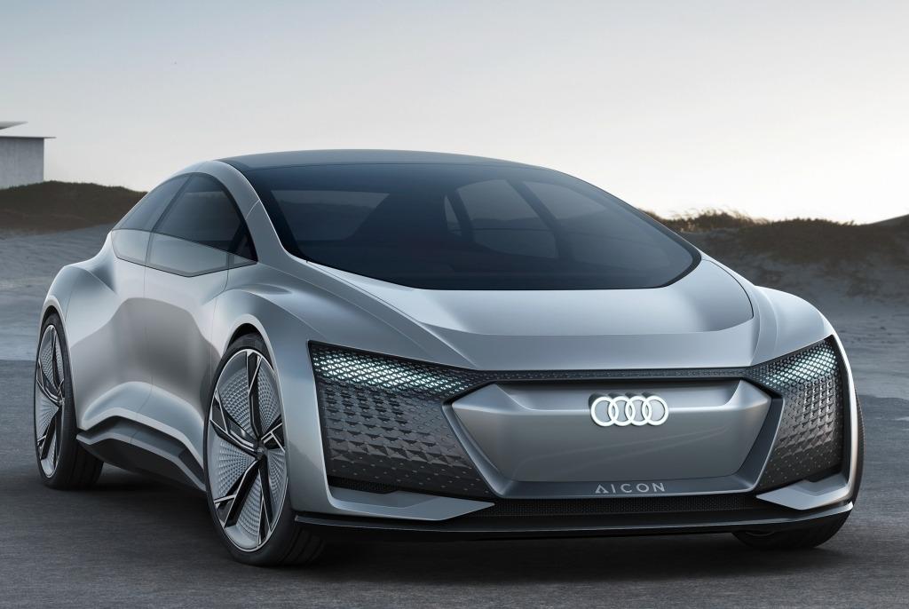 Audi Aicon & Elaine koncepti