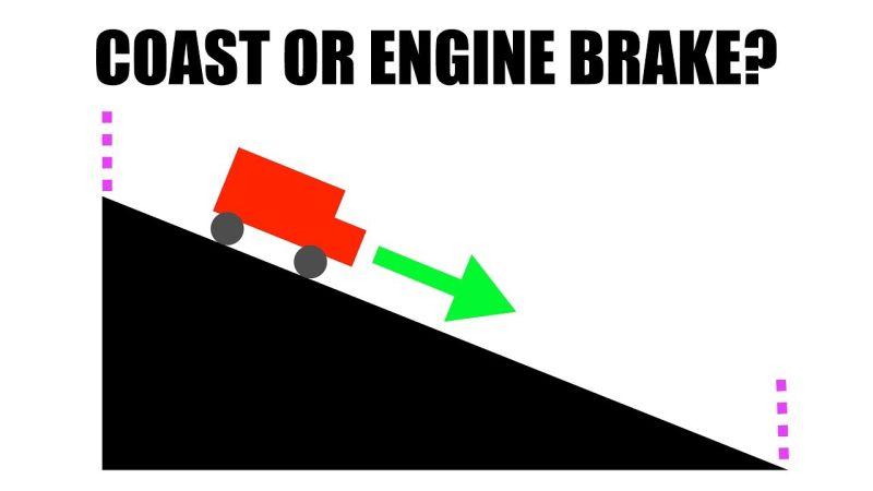 """Kada se troši manje goriva, pri vožnji u """"leru"""" ili motornim kočenjem? (video)"""