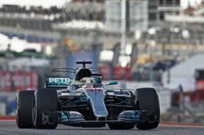 United States Formula One Grand Prix practice session