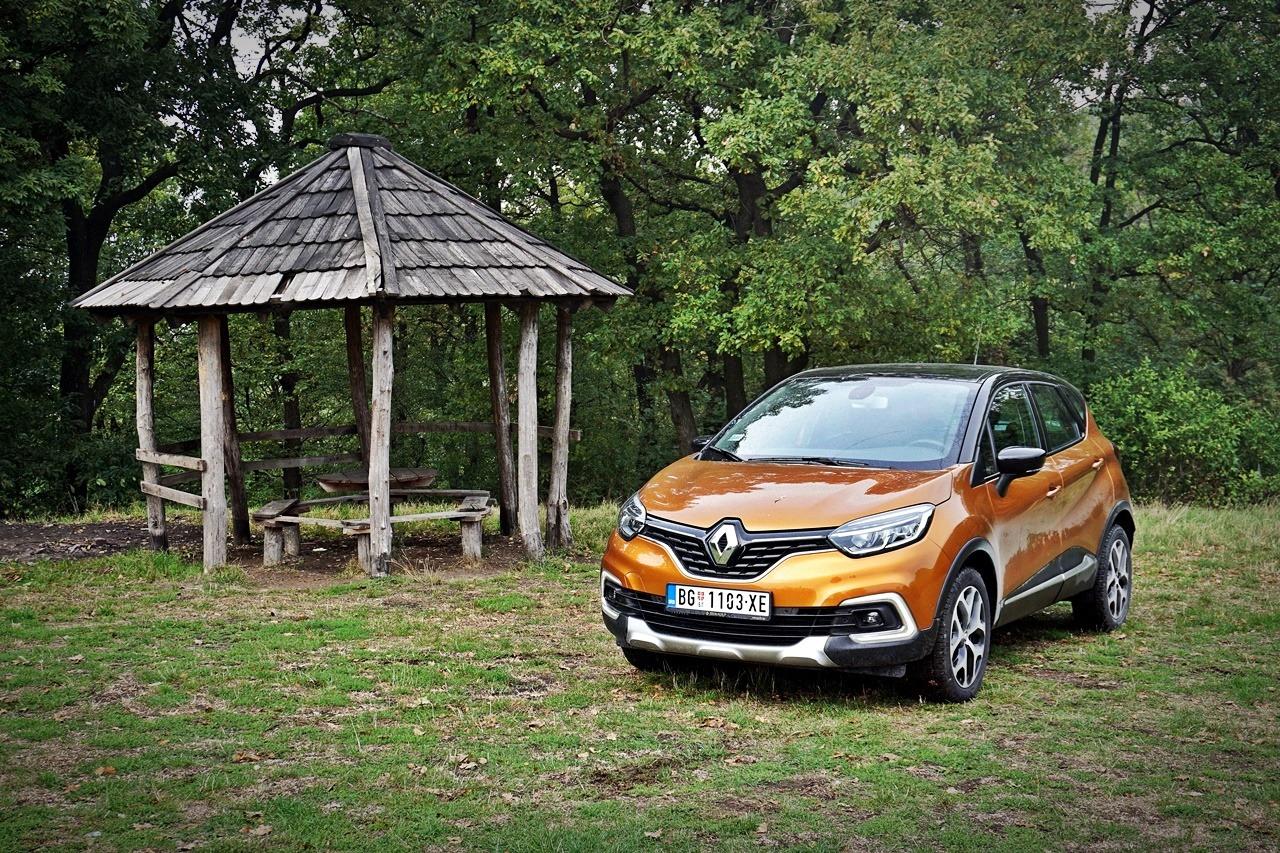 Renault Captur Intens Energy TCe 120 – Bestseler s razlogom