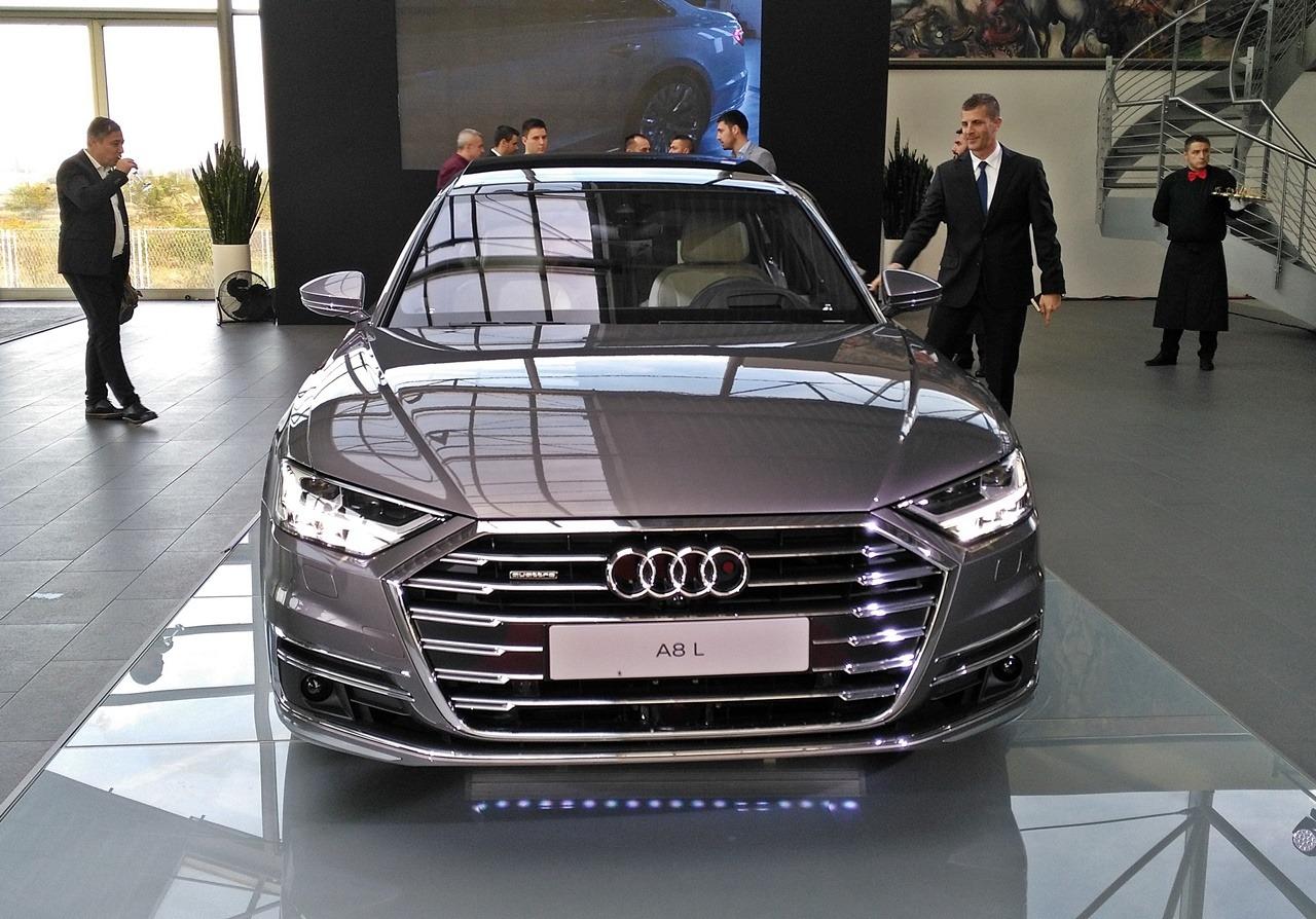 Audi A8 – predstavljen beogradskoj publici