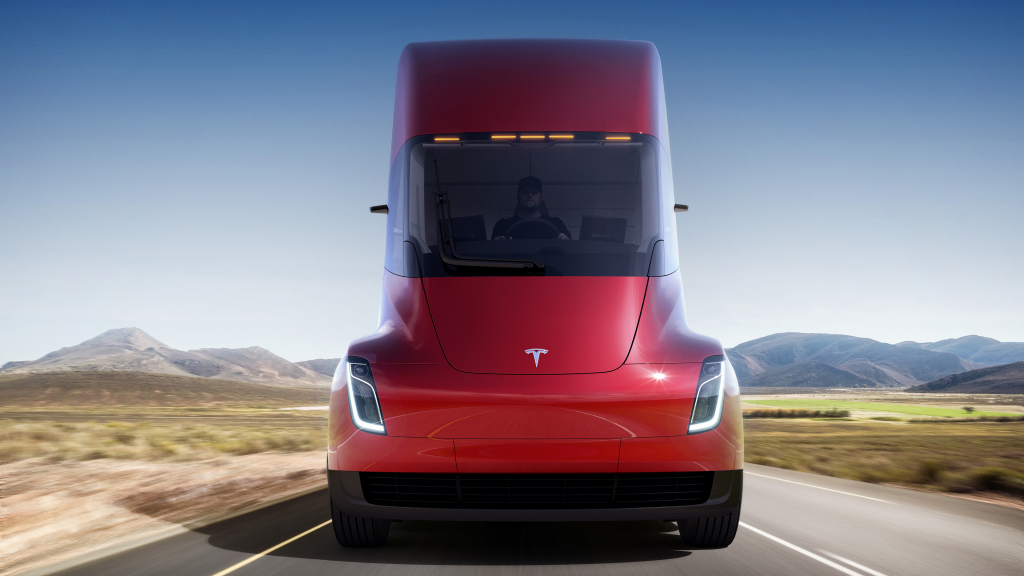 Tesla Semi koncept