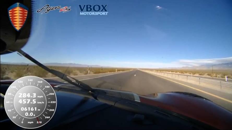 Koenigsegg Agera RS srušila brzinski rekord Bugatti Veyrona Super Sport