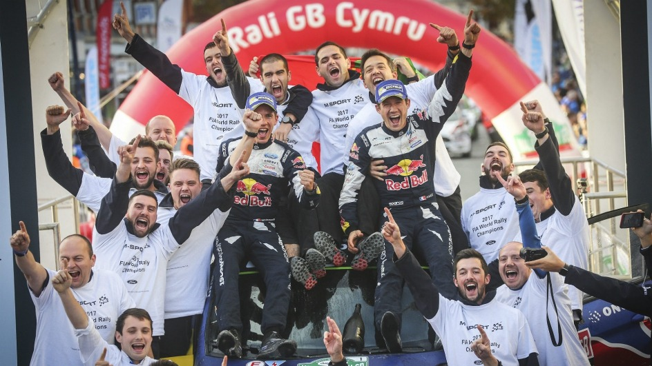 Sebastijen Ožije osvojio petu uzastopnu WRC titulu