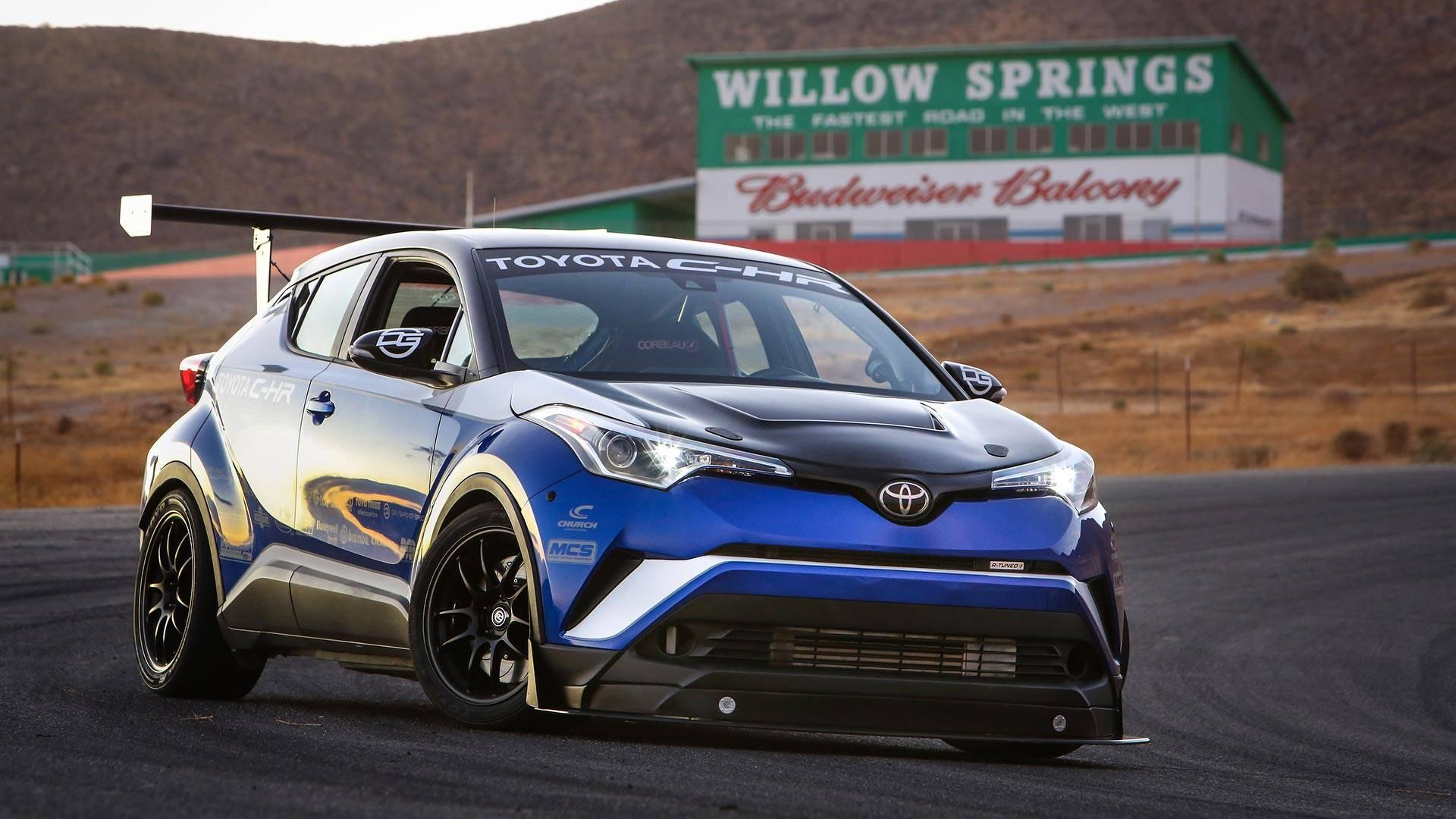 Toyota C-HR koja bi mogla da sruši rekord Honde Civic Type R