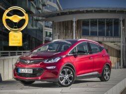 Golden Steering Wheel 2017 for Opel Ampera-e