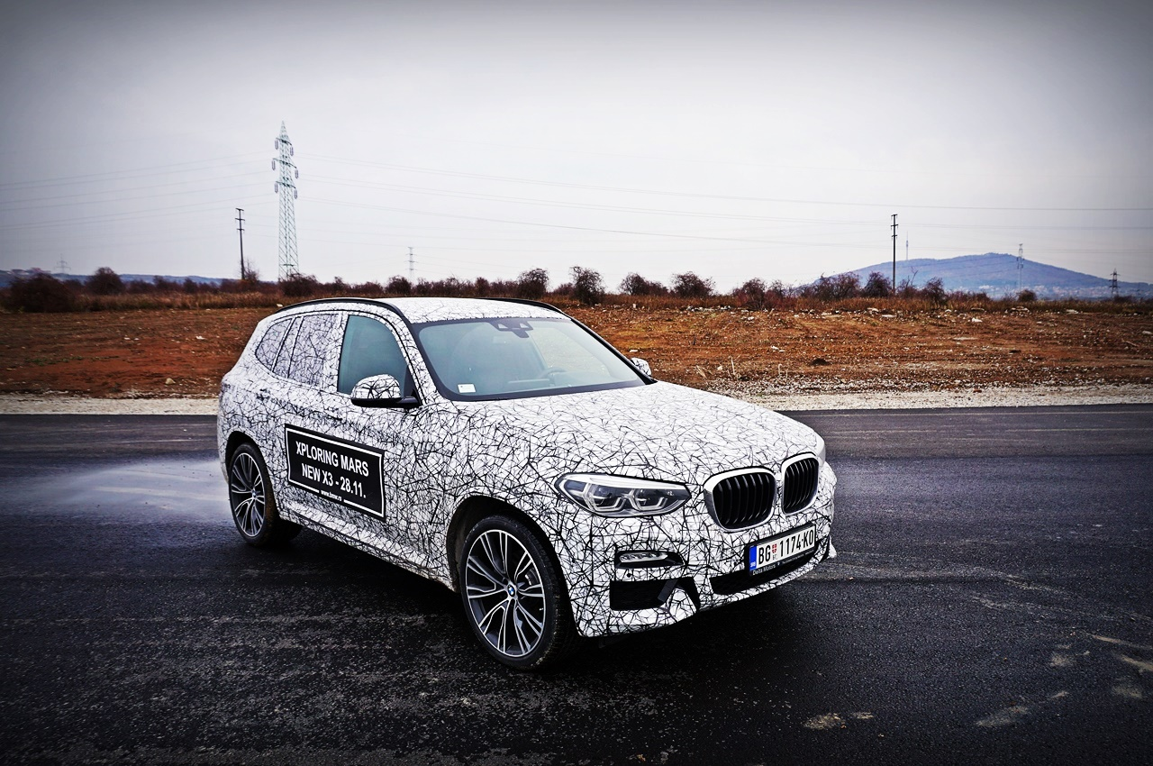 BMW X3 xDrive 20d M Sport – It's me, Leclerc!