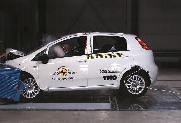 Fiat Punto – prvi model u istoriji Euro NCAP-a sa 0 zvezdica (video)